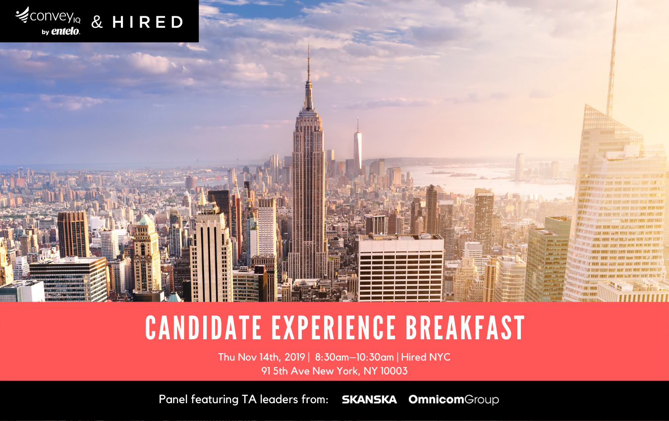 CX Breakfast with Hired - Blog