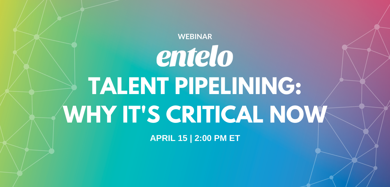 Webinar Talent Pipelining - why it's critical now